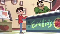 S2E24 Emilio happy to see Marco Diaz