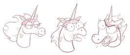 Running with Scissors Concept Art - Pony Head