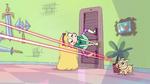 S2E1 Laser puppy bounces into the room