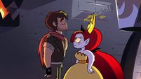 S2E31 Adult Marco finally blows out Hekapoo's flame
