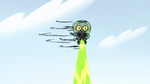 S2E14 Ludo spinning through the air