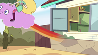 S2E40 Star Butterfly and Cloudy fly off