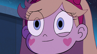 S2E39 Star Butterfly smiling at Marco Diaz