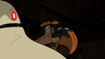 S2E21 Rafael Diaz climbing onto Hungry Larry's body