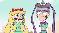 S2E9 Star Butterfly repeats after Mina Loveberry