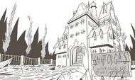 St. Olga's Reform School for Wayward Princesses concept art