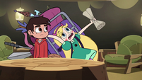 S2E28 Star Butterfly stumbling over again