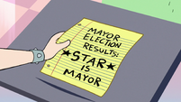 S2E16 Star picks up the election results paper