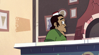 S2E24 Emilio looking back at Marco Diaz