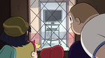 S2E16 Star and detention kids gather at the door
