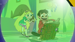 S2E25 Marco Diaz about to read Eclipsa's chapter