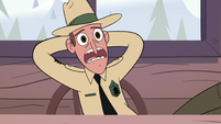 S2E10 Park ranger 'he's all dried up'