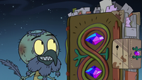 S3E3 Ludo trying to appeal to Book of Spells