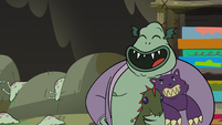 S3E5 Buff Frog 'I just put them down for nap'