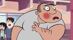 S1E5 Lars has a bruised cheek