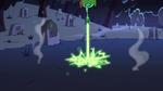 S2E27 Ludo firing magic at the ground