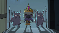 S3E6 King Ludo enters Marco and River's dungeon cell