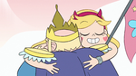 S2E15 Star Butterfly hugging her father