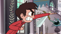 S1E12 Marco karate chops a guard away