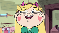 S2E25 Star Butterfly starting to get excited