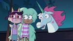 S2E41 Pony Head, Kelly, and StarFan13 looking sad