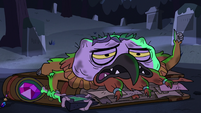 S2E27 Ludo covered in burns and bruises