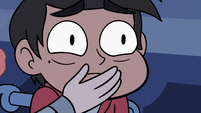 S3E6 Ruberiot covering Marco Diaz's mouth