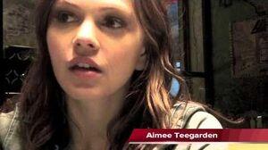 Aimee Teegarden Talks Star-Crossed on the set