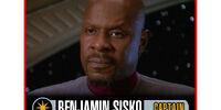 Benjamin Sisko (Skill 6 Cost 4)