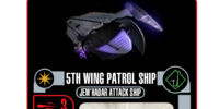 5th Wing Patrol Ship - Jem'Hadar Attack Ship Class (Cost 22)