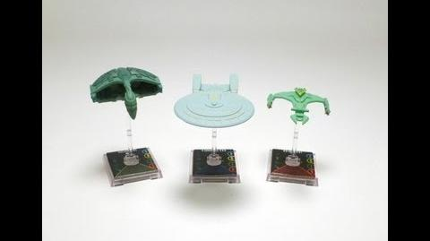 "Game On - Star Trek Attack Wing ""D'Dedrix Class"" Ship"