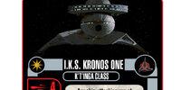 I.K.S. Kronos One - K'T'Inga Class (Cost 24)