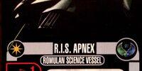 R.I.S. Apnex - Science Vessel Class (Cost 14)