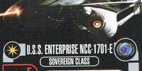 USS Enterprise NCC-1701-E - Sovereign Class (Cost 32)