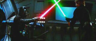 Vader Luke Return of the jedi