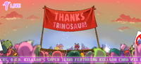 Episode 1.5 Trinosaur parade