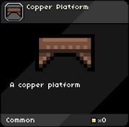 Copper Platform tooltip