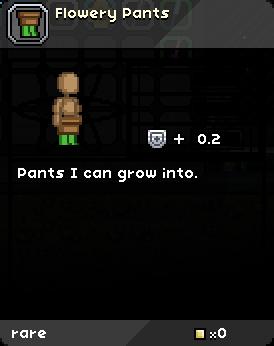 Flowery Pants Tooltip