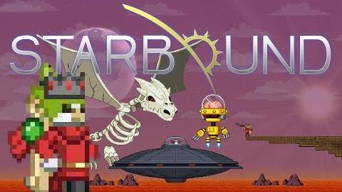 Starbound How-to kill Penguin UFO, Inactive Robot and Dragon King LEGITIMATELY, no traps arenas.-0