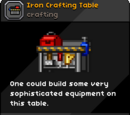 Iron Crafting Table