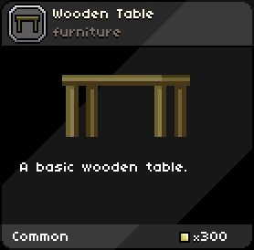 Woodentable infobox