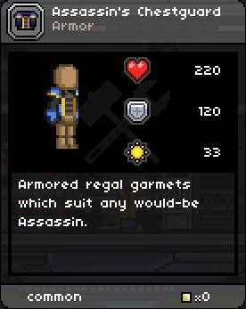Assassin's Chestguard