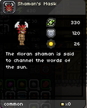 Shamans-Mask