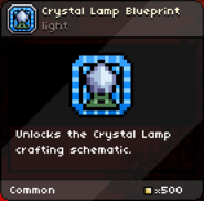 Crystal Lamp Blueprint tooltip