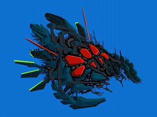 Ship antorian battleship