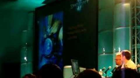 Blizzcon 2007 Starcraft 2 Art panel 5 6