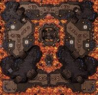 MoltenTemple SC2 Map1