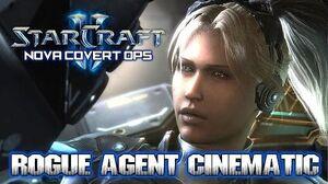 Starcraft 2 ► Nova Covert Ops Rogue Agent Awakening Cinematic HD