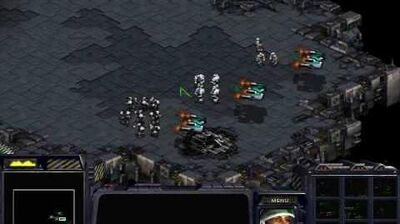 Starcraft Brood War - Terran Mission 2 The Dylarian Shipyards