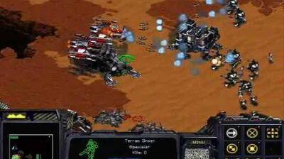 Starcraft Brood War - Terran Mission 5b Emperor's Fall (Birds of War)
